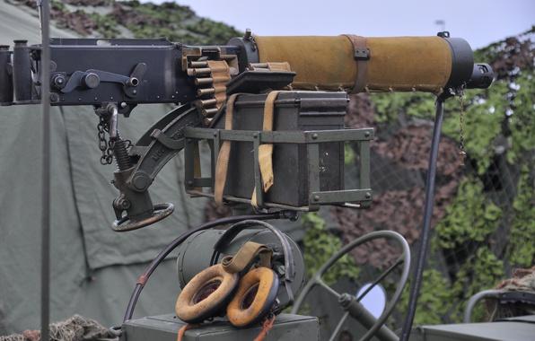 Картинка оружие, пулемёт, тяжёлый, станковый, Vickers, «Виккерс»