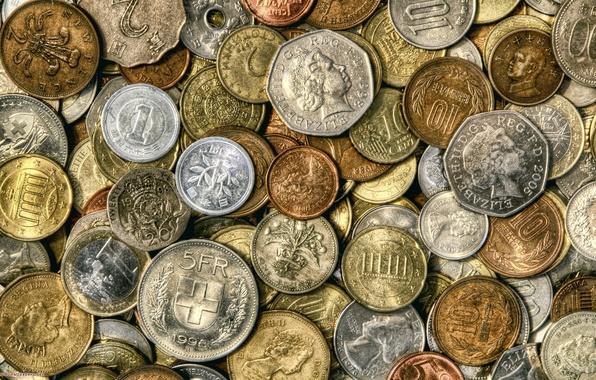 Картинка деньги, монеты, мелочь