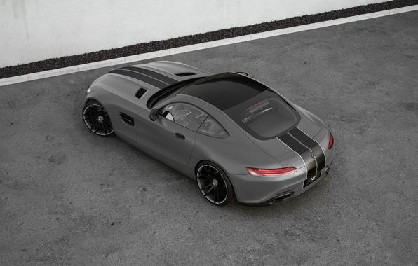 Картинка Mercedes-Benz, AMG, Wheelsandmore, Grey, View, Rear, Tuned, Top, 600HP
