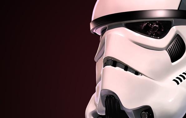 Картинка отражение, шлем, star wars, darth vader, штурмовик, клон, stormtrooper