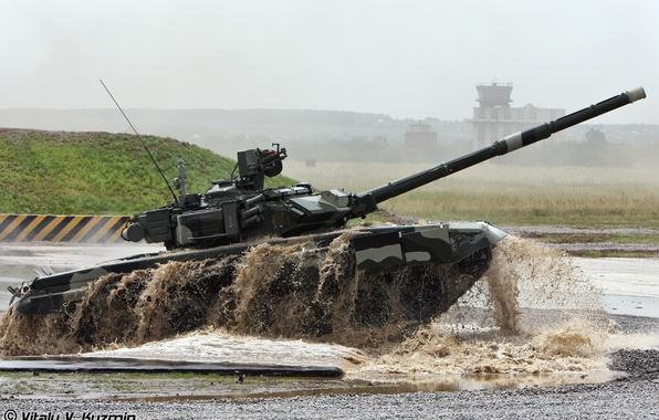 Картинка армия, танк, Россия, Т-90 а