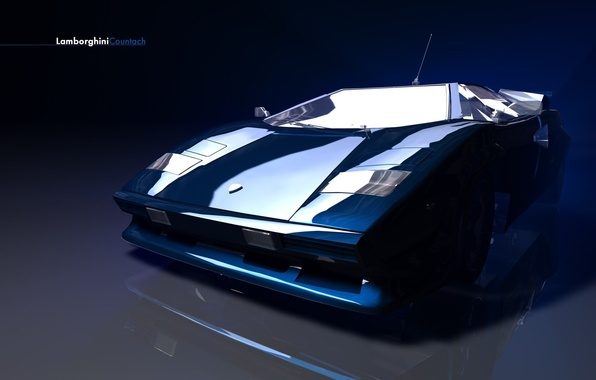 Картинка синий, Lamborghini, concept