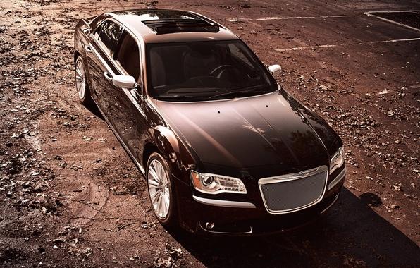 Картинка Авто, Chrysler, Крайслер, Седан, Series, 300, Передок, Luxury