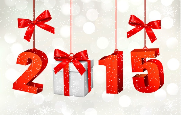 Картинка подарок, Новый Год, New Year, Happy, 2015