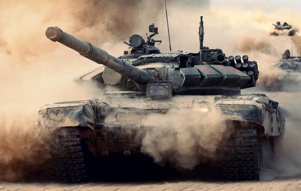 Картинка армия, танк, Россия, T-72, Т-72Б2