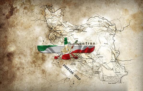 Картинка Map, free, Iran, farvahar, Persian
