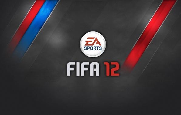 Картинка Игра, Полосы, Футбол, Логотип, Logo, Football, Game, ФИФА 12, FIFA 12, EA Sports
