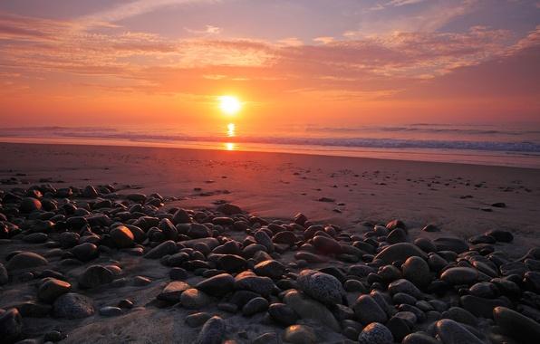 Картинка море, небо, вода, солнце, камни, океан, берег, побережье, пейзажи, камень, небеса, вид, красота, места, пляжи, …