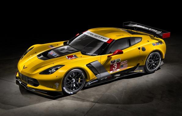 Картинка Corvette, Chevrolet, 2014, C7.R