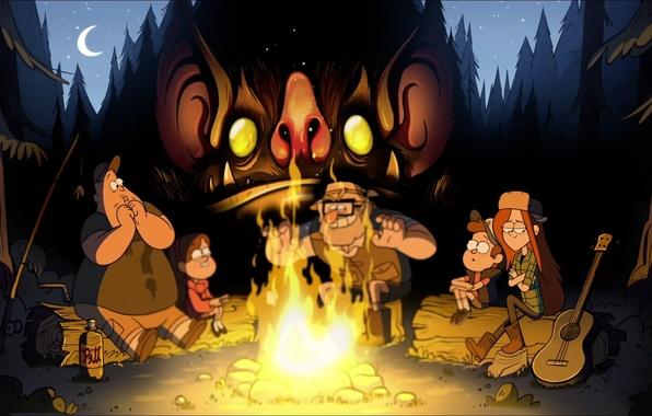 Картинка Gravity Falls, Гравити Фолз, Disney Television Animation, Гравити Фоллс