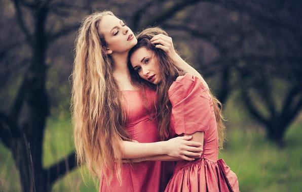 Картинка любовь, две девушки, JOY, Марине Акопян, Виктория Gmira, Евгения Соколова