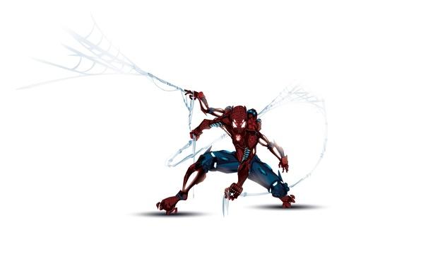 Обои картинки фото spider man человек паук