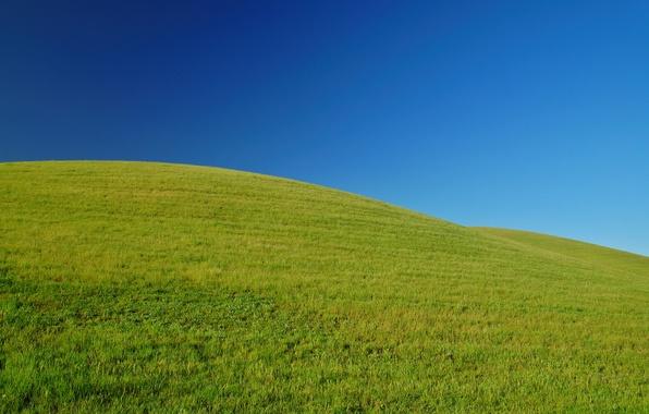 Картинка зелень, небо, трава, горы, природа, настроение, холмы, пейзажи, поля, позитив, весна, свежесь