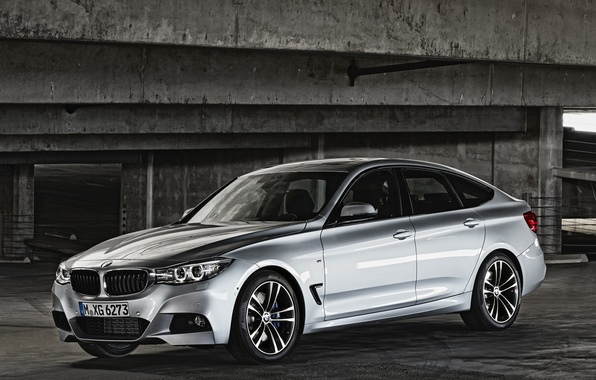 Картинка car, машина, BMW, 335i, Gran Turismo, silver color, M Sports Package