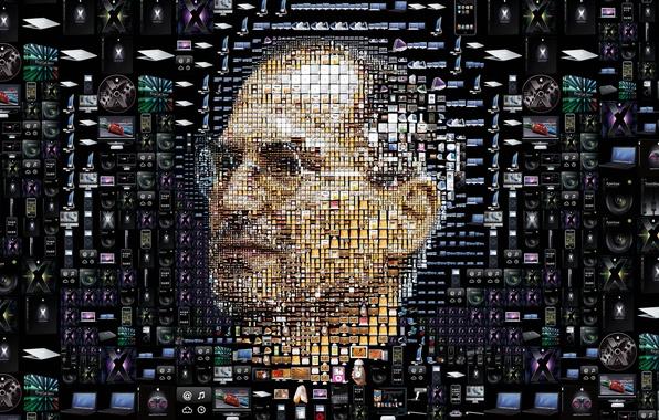 Картинка обои, Apple, ipod, mac, wallpaper, iphone, ipad, Стив Джобс, Steve Jobs, itunes, гаджеты