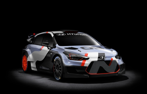 Картинка Concept, концепт, Hyundai, WRC, i20, 2015, хундай