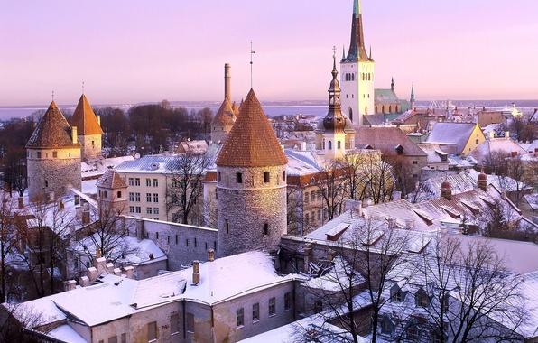 Картинка Эстония, Таллин, Дыра в крыше :)