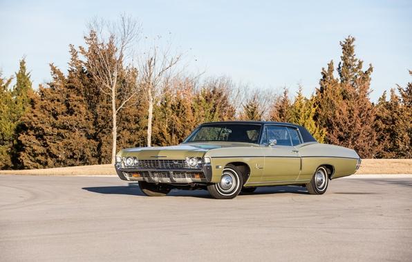 Картинка купе, Chevrolet, шевроле, Coupe, Impala SS, 1968, Custom, импала