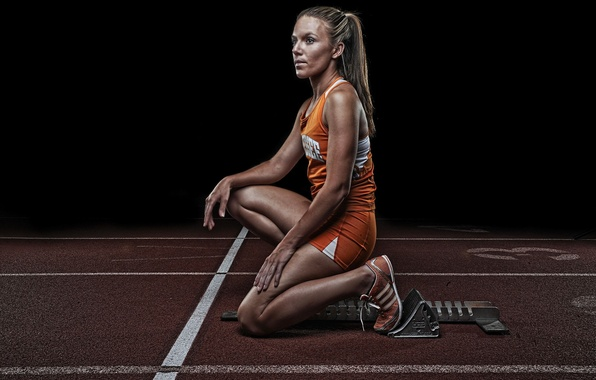 Картинка девушка, спорт, бег