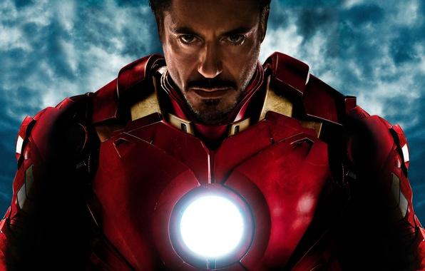Картинка кино, обои, wallpaper, wall, Железный человек, Фильм, Iron Man, Robert Downey Jr., Мстители, Роберт Дауни ...
