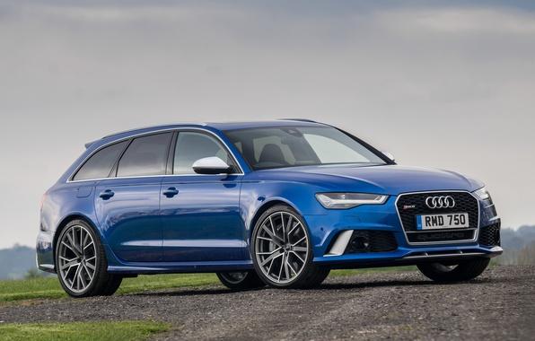 Картинка Audi, ауди, универсал, Avant, RS 6, авант