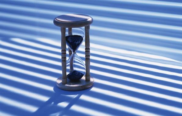 Картинка песок, голубой, часы
