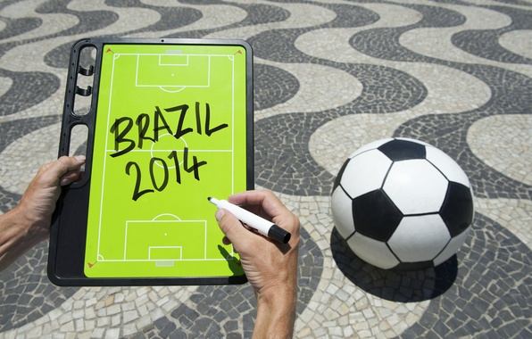 Картинка football, ball, World Cup, Brasil, FIFA, 2014