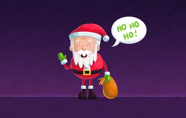 Картинка Новый Год, Рождество, Санта Клаус, Дед Мороз, Christmas, New Year, Xmas, Merry, 2016, Designed by, …