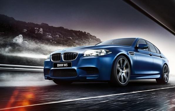Картинка бмв, BMW, седан, F10, Sedan, 2015