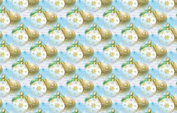 Картинка шарики, фон, праздник, шары, текстура, арт, Новый год