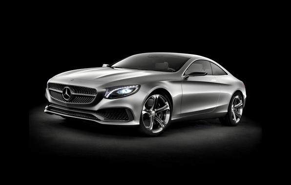 Картинка Concept, Mercedes-Benz, концепт, мерседес, 2013, S-Class, C217