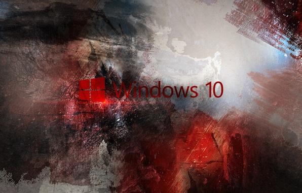 Картинка компьютер, обои, логотип, red, windows, microsoft, logo, hi-tech, виндовс, операционная система, майкрософт