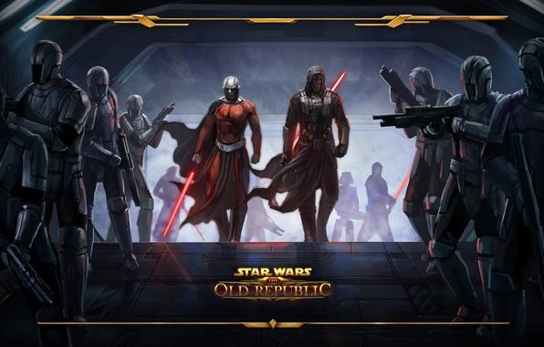 Фото обои star wars, ситх, old republic