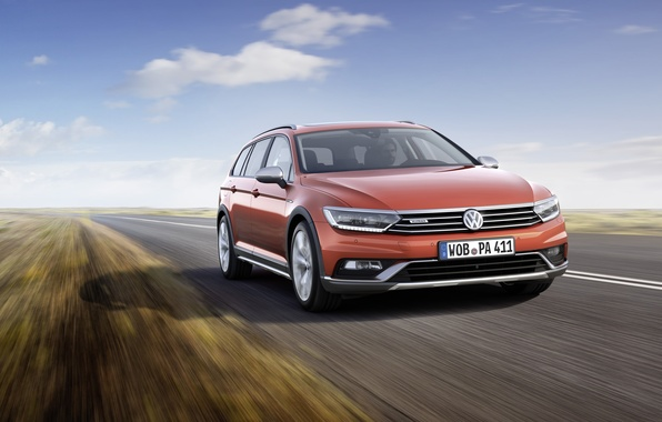 Картинка Volkswagen, фольксваген, пассат, Passat, 2015, Alltrack