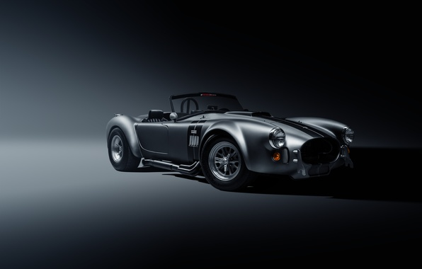 Картинка Shelby, Muscle, Car, Front, Cobra, Silver, SS Customs