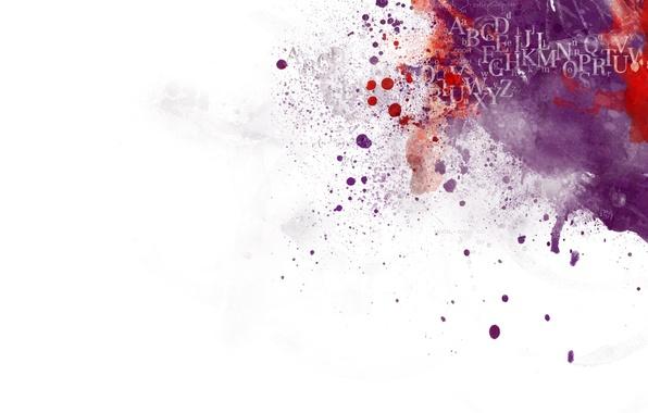 Картинка абстракция, буквы, красное, белое, минимализм, черное, 404, синее, фиолетовое