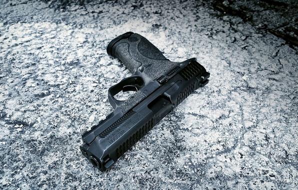 Картинка пистолет, оружие, Springfield, полуавтоматический