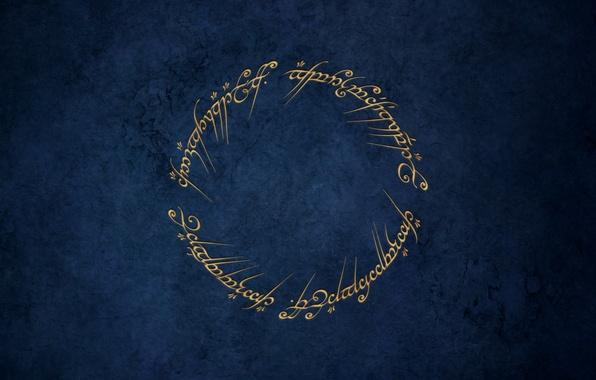 Картинка властелин колец, заклинание, кольцо всевластья