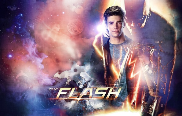 Фото обои tv series, Flash, Grant Gustin, Грант Гастин, Barry Allen, Барри Аллен