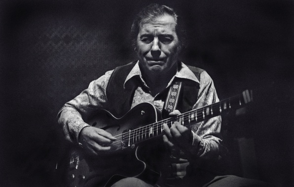 Картинка музыка, гитара, джаз, гитарист, музыкант, джазовый музыкант, Chuck Wayne