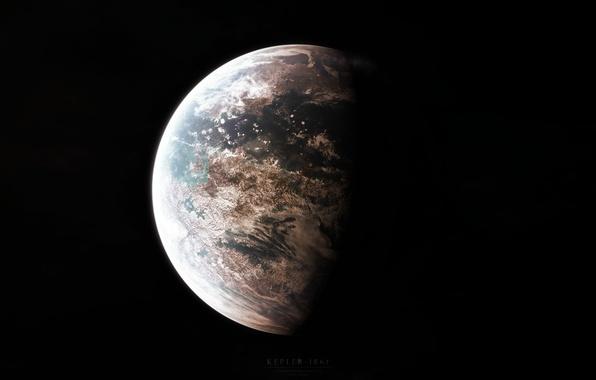 Картинка атмосфера, океаны, экзопланета, кеплер-186 f