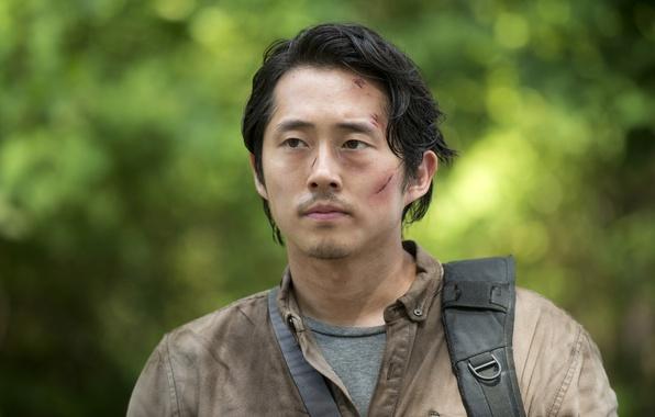 Картинка The Walking Dead, Ходячие мертвецы, Steven Yeun, Glenn