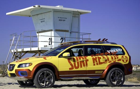 Картинка машины, volvo, xc70, surf