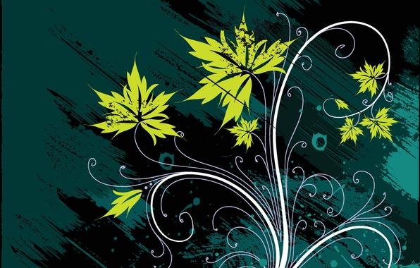Картинка цветок, абстракция, фон, узоры, лепестки