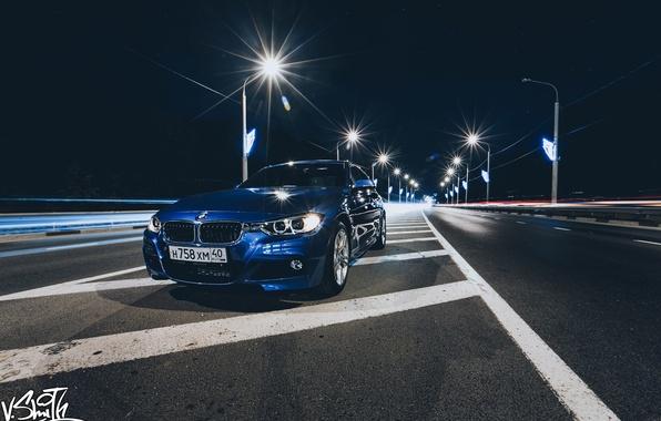 Картинка дорога, машина, авто, BMW, фонари, фотограф, auto, photography, photographer, Владимир Смит, Vladimir Smith, Калуга, Kaluga