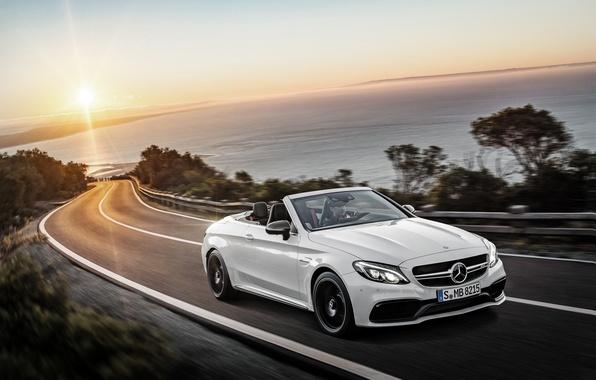 Картинка Mercedes-Benz, кабриолет, мерседес, AMG, амг, Cabriolet, C-Class, A205