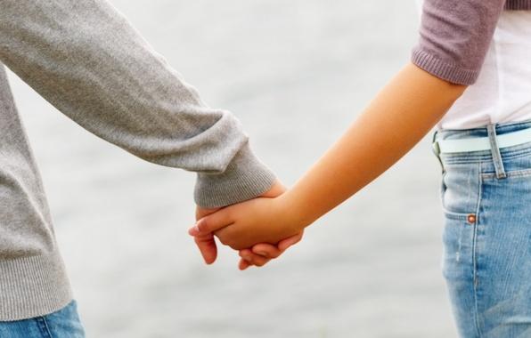 Обои картинки фото он, она, руки, дружба, ладони