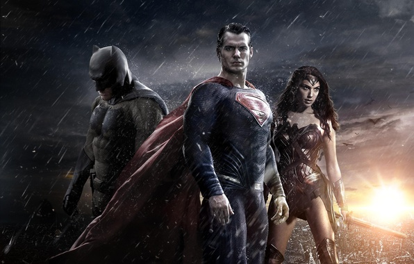 Картинка Wonder Woman, Batman, Бен Аффлек, Superman, Henry Cavill, Генри Кавилл, Галь Гадот, Gal Gadot, Ben …