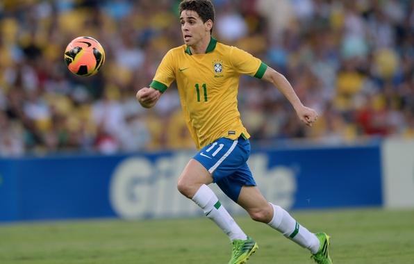 Картинка футбол, Бразилия, Oscar, Nike, Football, London, Chelsea, Brazil, Оскар, Найк