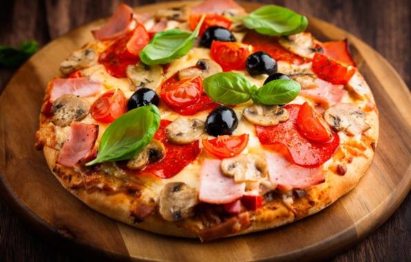 Картинка еда, Италия, пицца, Italy, food, pizza